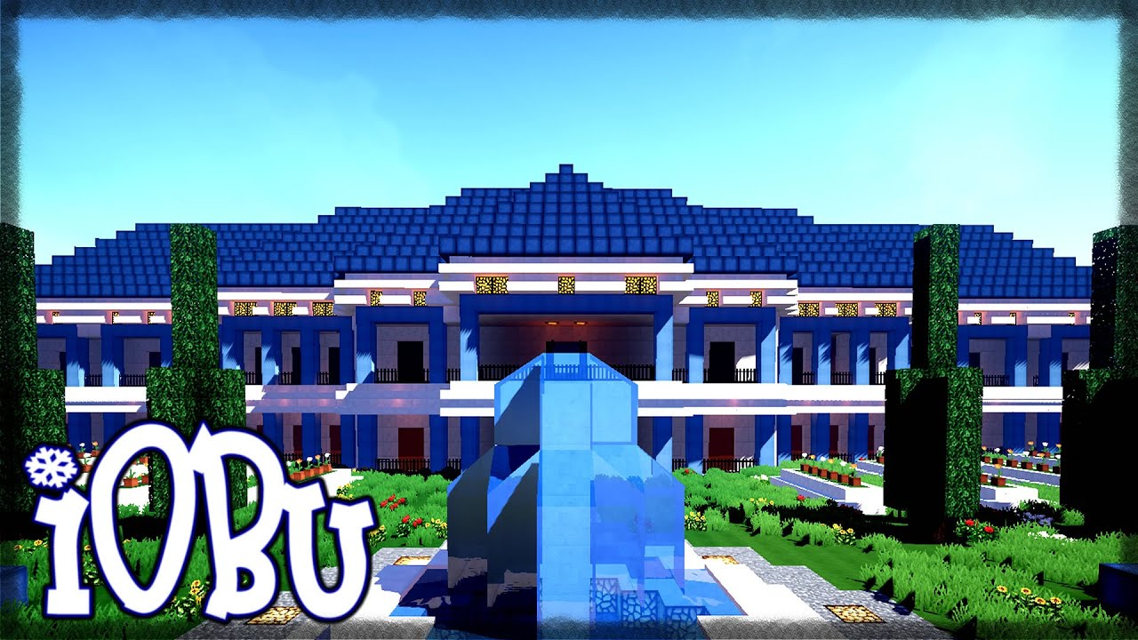 INCREDIBLE MANSION Minecraft Timelapse Lets Build with