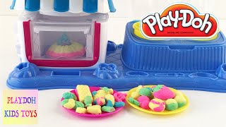 Play Doh Sweet Shoppe Double Dessert Playset  Play Dough Cookies Candies New