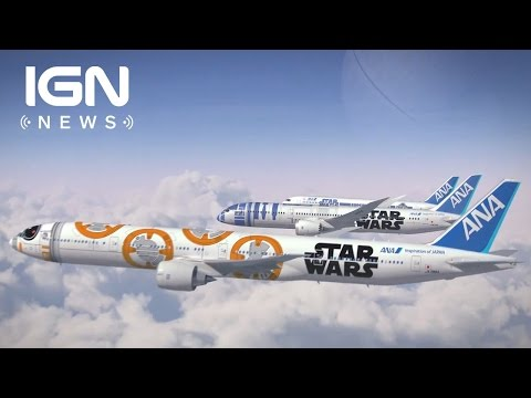 Japanese Airlines Debut New Star Wars Airplanes - IGN News