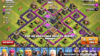 Clash of Clans-Push to crystal league