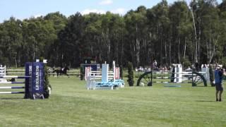 Malin Baryard & H&M Carla Bruni - Falsterbo Horse Show 2015