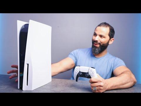 أول يوم مع PlayStation 5 🔥