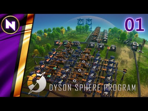 Download PERFECT START TO A NEW GAME   #1   Dyson Sphere Program   Lets Play/Walkthrough/Guide