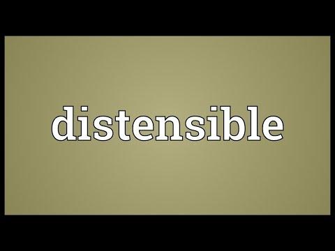 Header of distensible