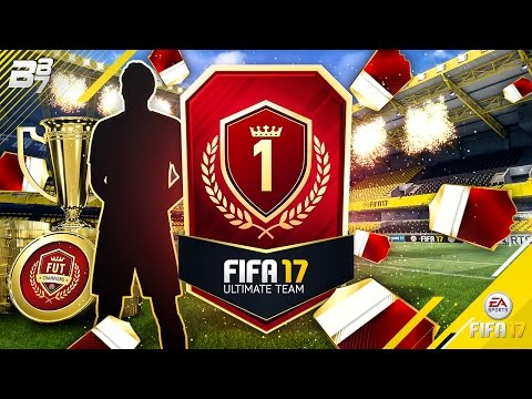 NUMBER 1 IN THE WORLD! FUT CHAMPIONS MONTHLY AND WEEKLY REWARDS! | FIFA 17 ULTIMATE TEAM