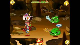 trying out treasure hunters| angry birds epic