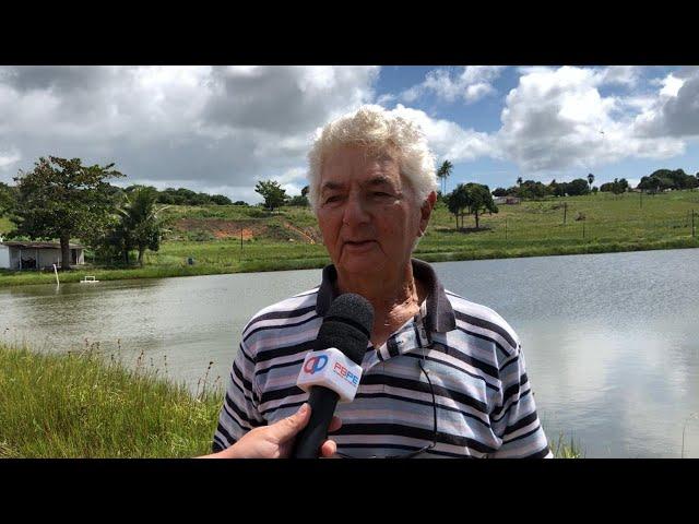 DR. OSWALDO RIBEIRO FALA SOBRE PISCICULTURA NA FAZENDA ACALENTO EM PEDRAS DE FOGO