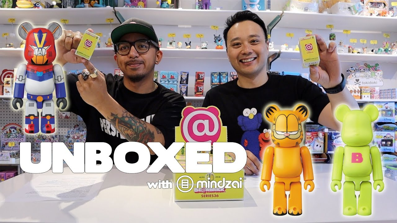 cd1ca481 Unboxed EP13 - Bearbrick Series 36 by Medicom Toy Unboxing and Giveaway.  Mindzai