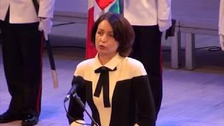 Церемония инаугурации мэра Омска Оксаны Фадиной.
