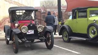 Antique & Classic Car Show Waxahachie Texas Sweethearts & Orphans mostly pre-war Samspace81 footage
