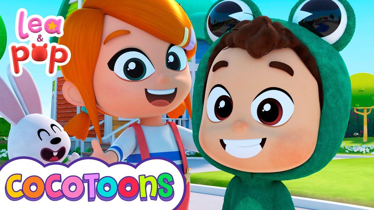 Cucú Cantaba La Rana - Canciones infantiles de Lea y Pop | Cocotoons