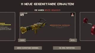 TF2 GOLDEN MEDI GUN DROP IN MVM!!!!