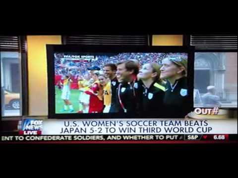 Fox News Politicizes U.S. World Cup Soccer Win