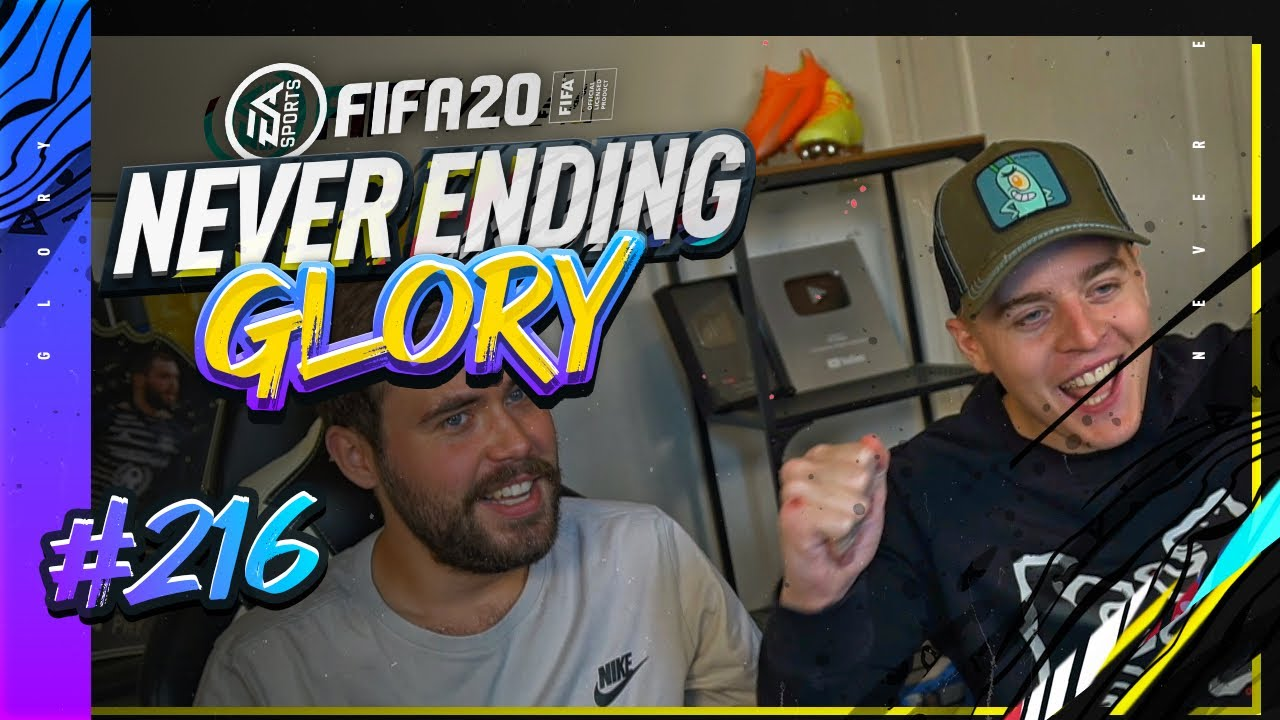 WELK CIJFER GEVEN WIJ FIFA 20?? | FIFA 20 NEVER ENDING GLORY #216
