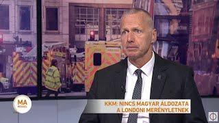 Késes támadás Londonban és Hágában
