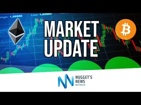 Cryptocurrency Market Update Oct 28th 2018 - Stocks Crash & Bitcoin Builds