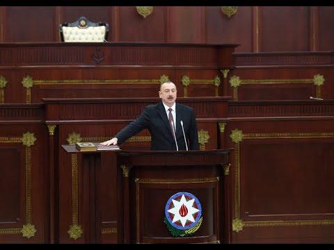Azerbaijani President Ilham Aliyev's inauguration ceremony takes place