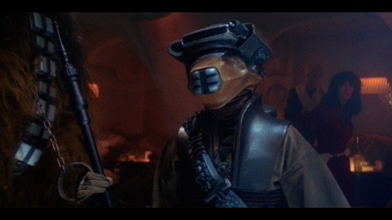 Star Wars Return Of The Jedi Leia Disguised As A Bountyhunter Youtube
