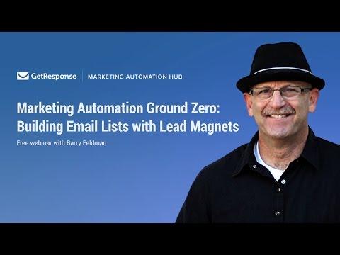 Building Email Lists with Lead Magnets  Barry Feldman Webinar