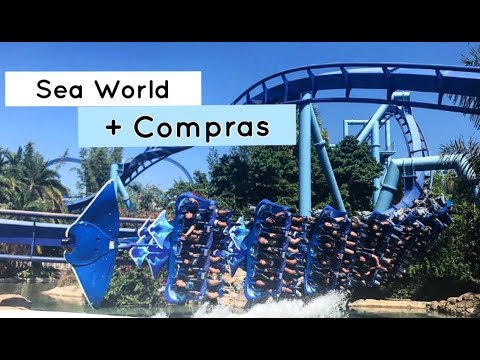 VLOG ORLANDO - DIARIO #7 - SEA WORLD + COMPRAS