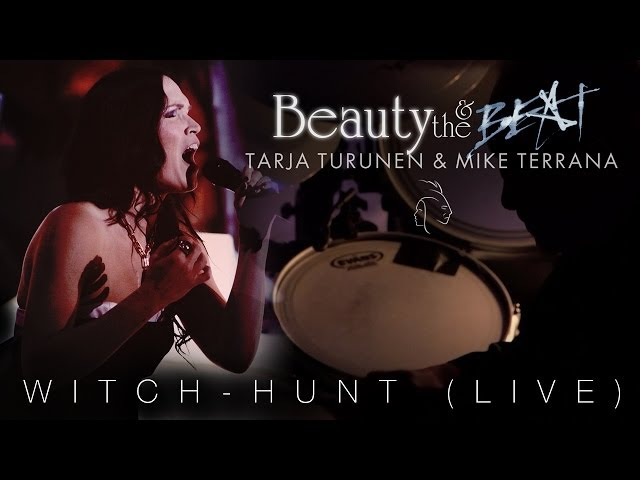 Tarja Turunen & Mike Terrana 'Witch-Hunt' from 'Beauty & The Beat'