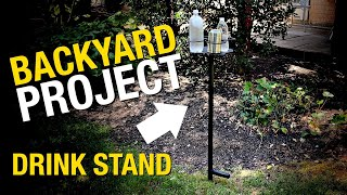 Backyard Projects - How to Build a Drink Holder for Backyard Games - Eastwood