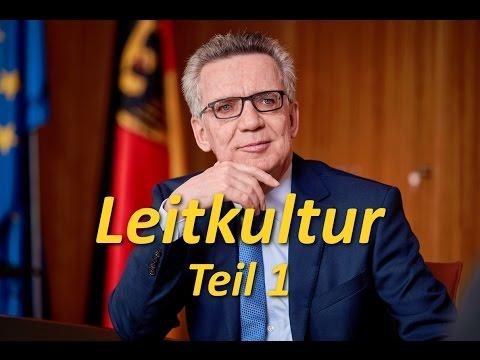 Thomas de Maizière - Leitkultur Teil1