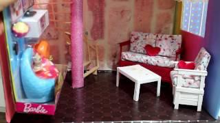 İki Katlı Barbie Rüya Evi Yapımı - DIY - Kendin Yap Barbie Evi - Bidünya Oyuncak