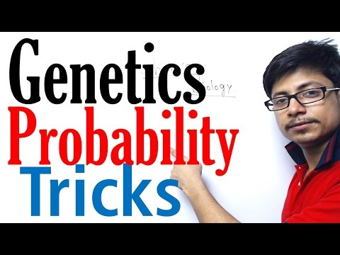 How to solve genetics probability problems