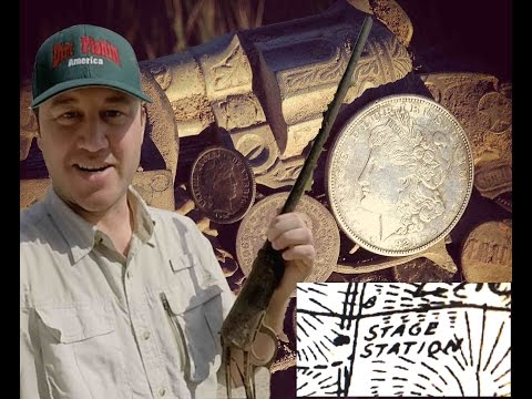 Thumbnail: Metal Detecting a Wild West Stage Stop. Finding Guns and BIG Silver coins!