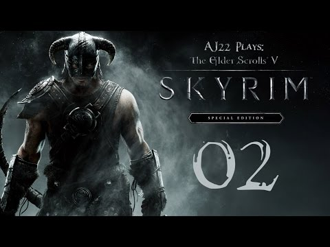 AJ Plays: Skyrim Special Edition - Riverwood | Episode Two