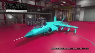 HYDRA CUSTOMIZATION - GTA ONLINE - SMUGGLER'S RUN DLC