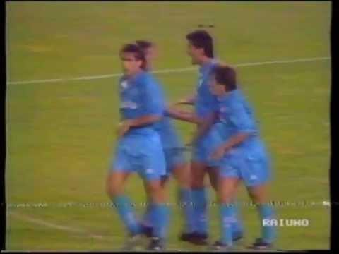 5 goles de Daniel Fonseca al Valencia UEFA 1992
