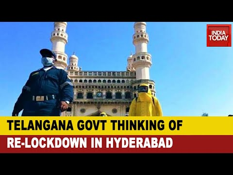 COVID-19 Spike In Hyderabad: Health Officials Propose 15 Day Lock Down In Telangana's Capital