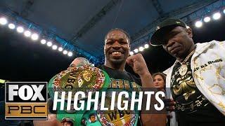 Shawn Porter retains WBC Welterweight belt vs Yordenis Ugas | HIGHLIGHTS | PBC ON FOX