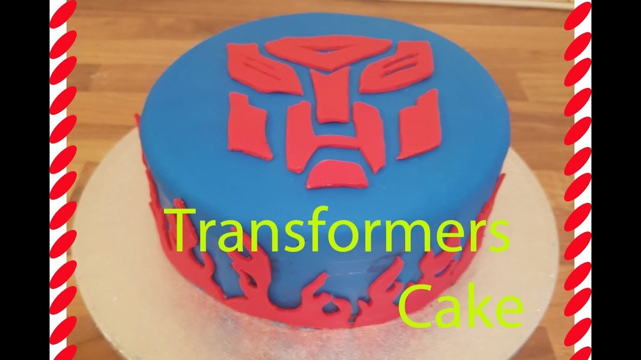 How To Make A Transformers Cake