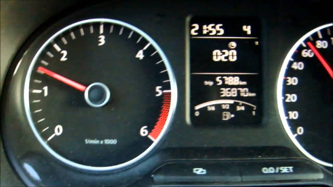 Fuel consumption test with Volkswagen Polo 12 TDI