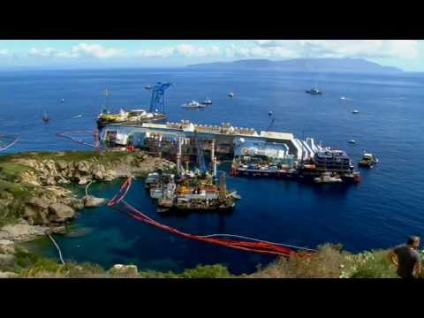 Costa Concordia: Operation to salvage stricken ship begins
