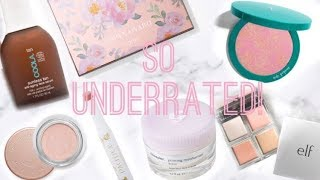 UNDERRATED MAKEUP AND SKINCARE PRODUCTS | FORGOTTEN FAVORITES