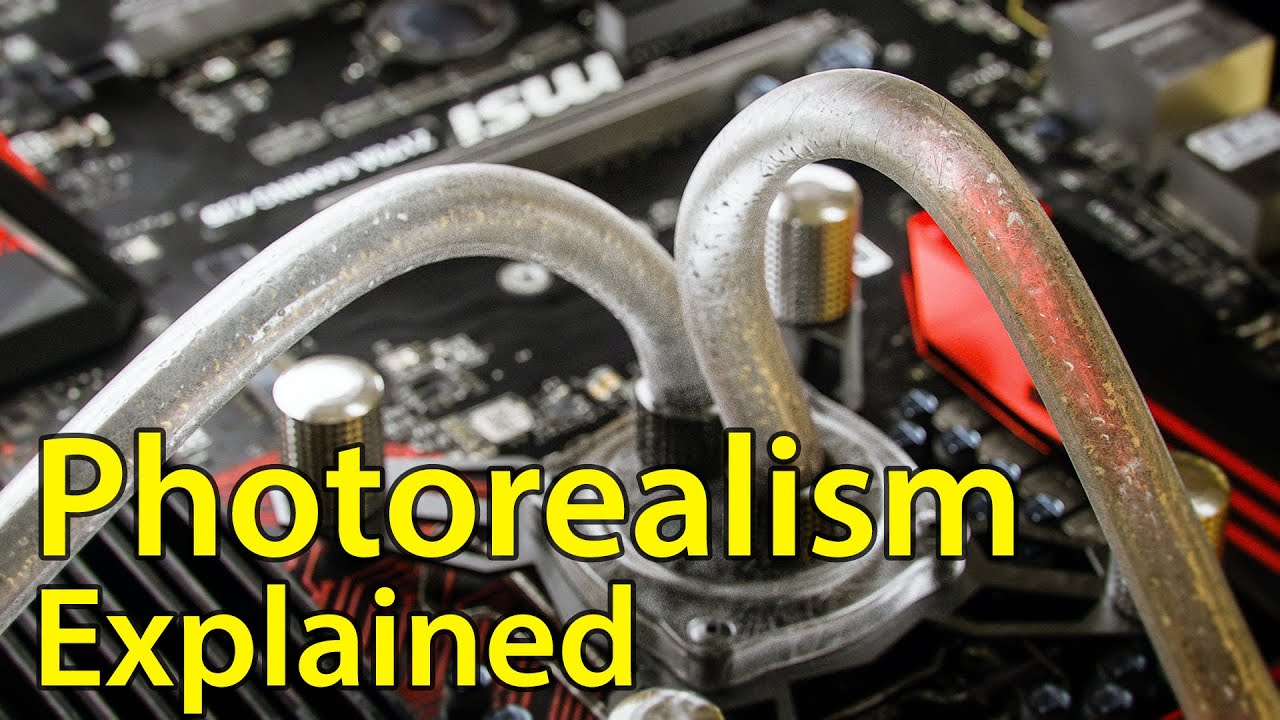 Photorealism Explained - YouTube