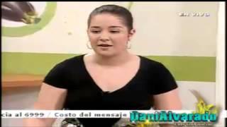 Daniela Alvarado en El Programa El Guiso 9/4/13
