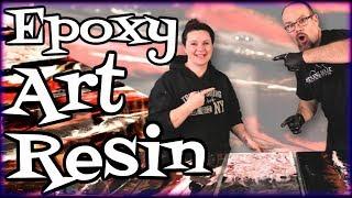 Epoxy Art Resin Mixed Media