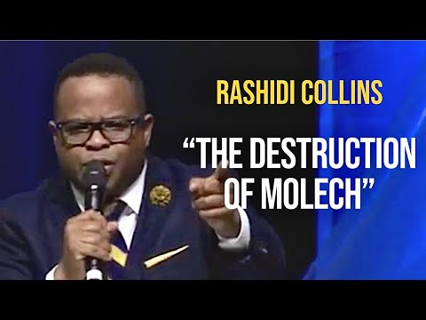 "Pastor Rashidi Collins preaching ""The Destruction of Molech"""