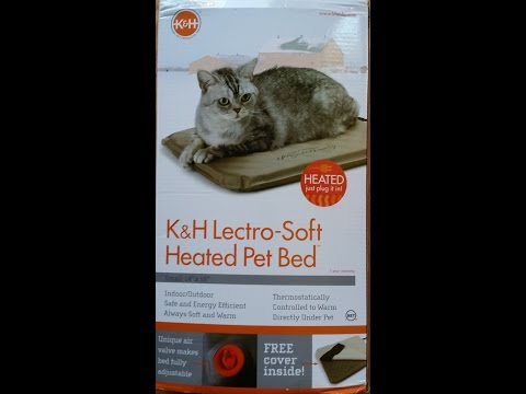 k&h-lectro-soft-heated-pet-bed-review,-see-in-use!