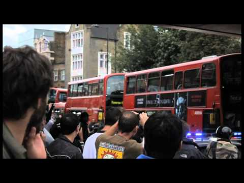 London Riots - Mare Street, Hackney - 08/08/11