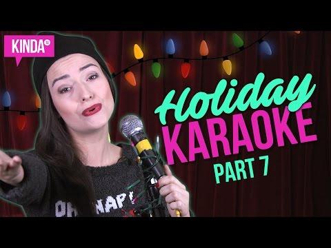 HOLIDAY KARAOKE CHALLENGE PART 7 | KindaTV ft. Natasha Negovanlis