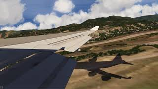 Take Off Aspen Boeing 747-400 ++ Aerofly FS 2