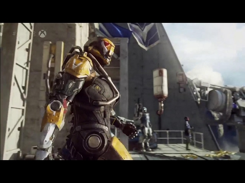 Bioware's Project Anthem Gameplay On Xbox One X - E3 2017: Microsoft Conference