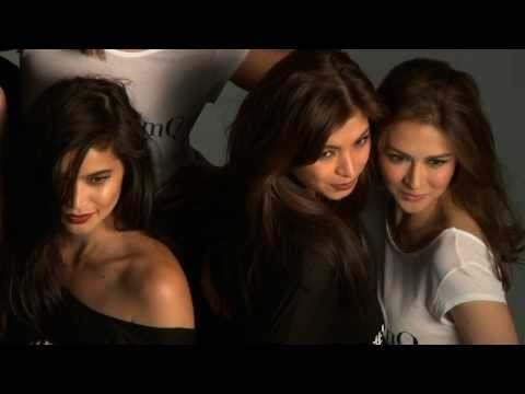 Anne Curtis with Judy Anne, Marian Rivera, Angel Locsin and Charlene Gonzales