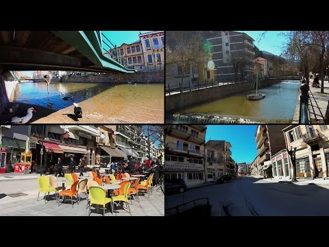Visit Greece Florina Town traditional settlement with GoPro.